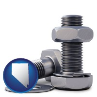 nv map icon and screws, nuts, and washers
