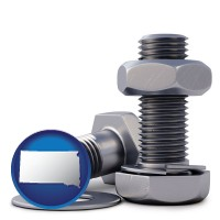 sd map icon and screws, nuts, and washers